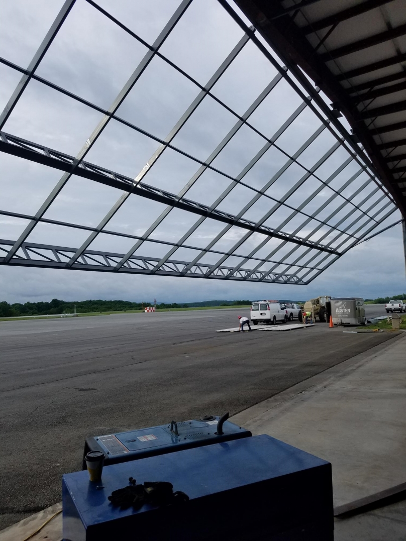 Greenbrier Valley Airport Hangar Doors